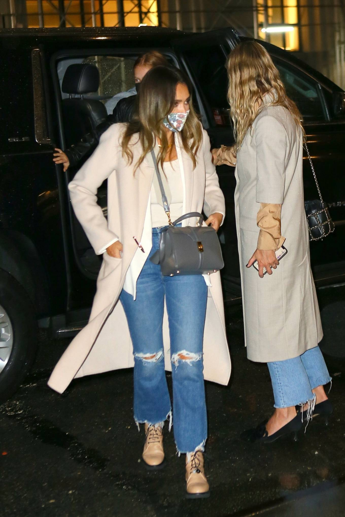 Jessica Alba - Night out in New York City