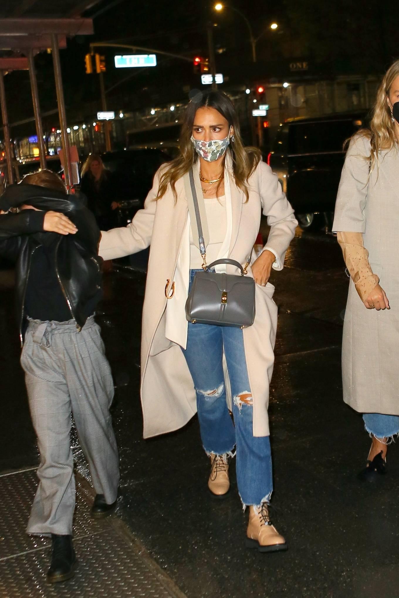 Jessica Alba 2021 : Jessica Alba – Night out in New York City-09