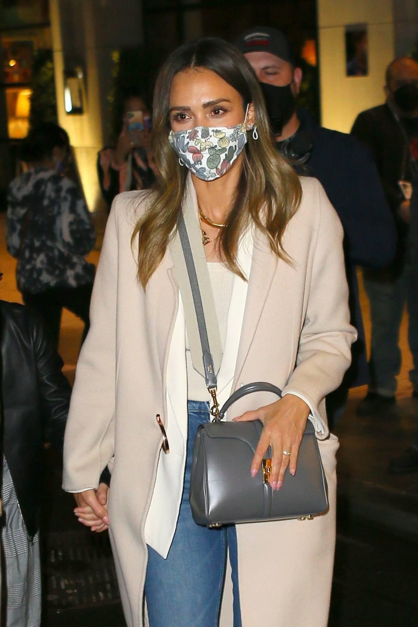 Jessica Alba 2021 : Jessica Alba – Night out in New York City-14