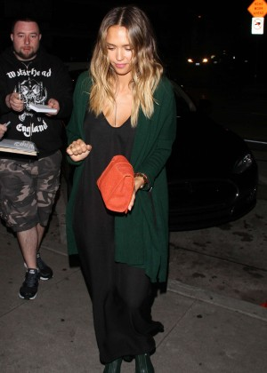Jessica Alba Night Out in West Hollywood