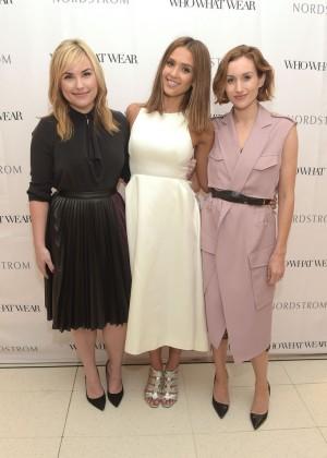 Jessica Alba - Nordstrom Presents Who What Wear in LA