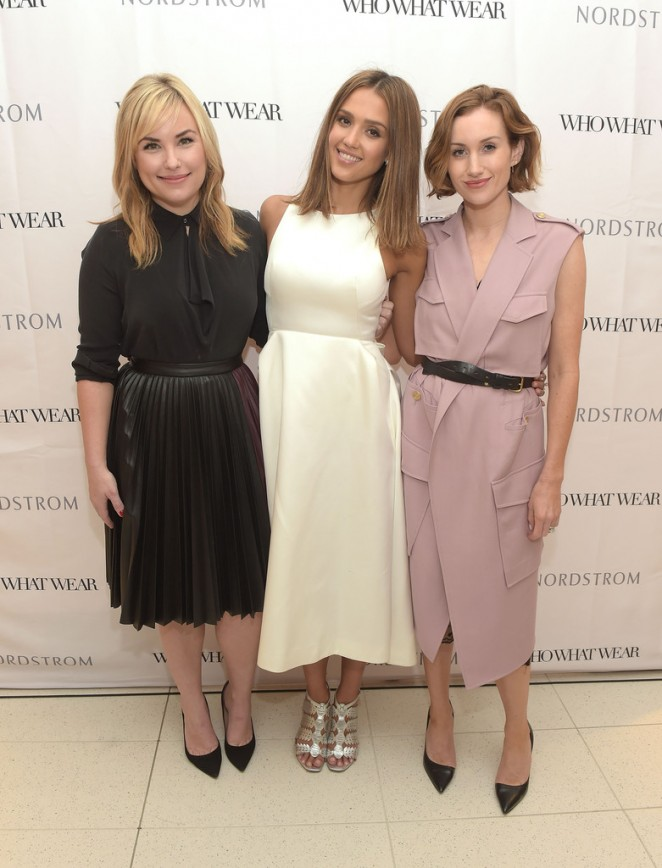 Jessica Alba - Nordstrom Presents Who What Wear in LA