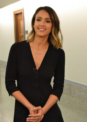 Jessica Alba on Capitol Hill in Washington