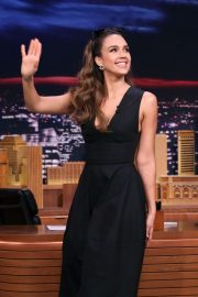 Jessica Alba - On 'The Tonight Show Starring Jimmy Fallon' in NYC