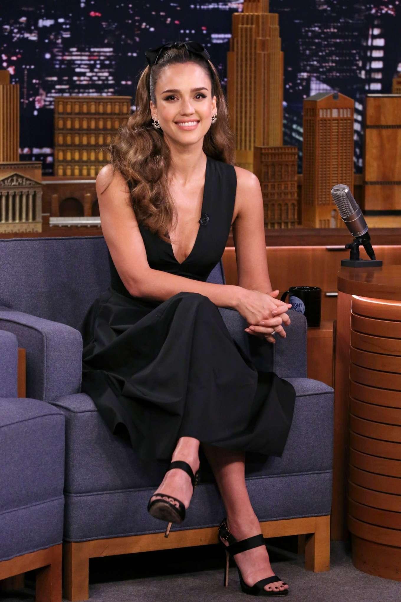 Jessica Alba 2019 : Jessica Alba: On The Tonight Show Starring Jimmy Fallon-05