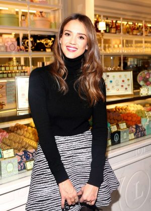 Jessica Alba - Opening of Laduree at The Grove in Los Angeles