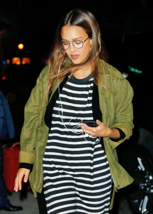 Jessica Alba - Out and about in New York