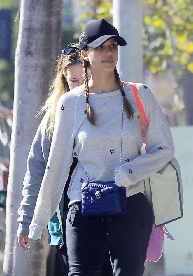 Jessica Alba out for a lunch in Beverly Hills
