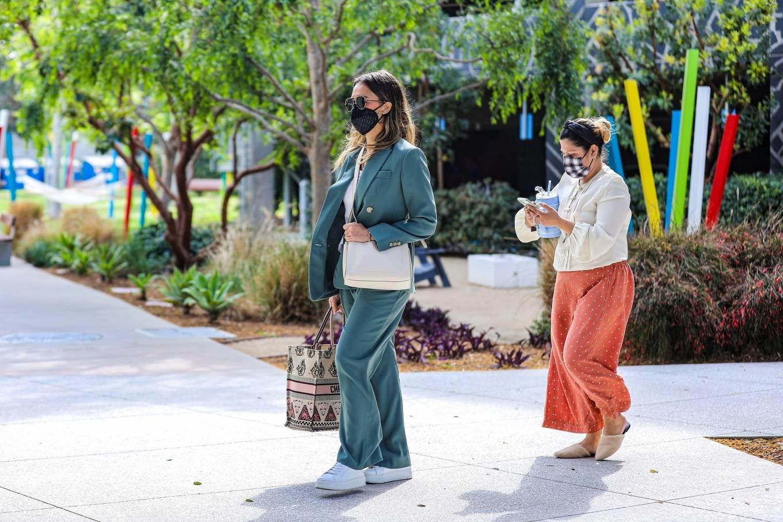 Jessica Alba 2021 : Jessica Alba – Out in a classy suit in Playa Vista-02