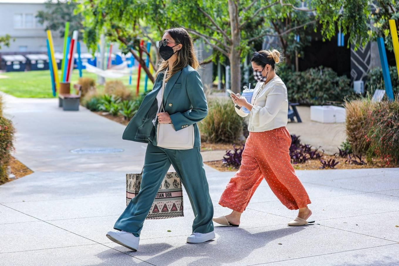 Jessica Alba 2021 : Jessica Alba – Out in a classy suit in Playa Vista-25