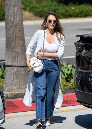 Jessica Alba - Out in Century City