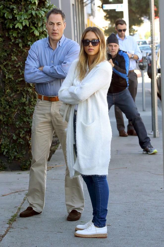 Jessica Alba out in LA -06