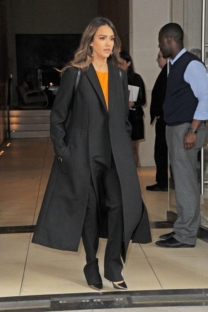 Jessica Alba out in Manhattan