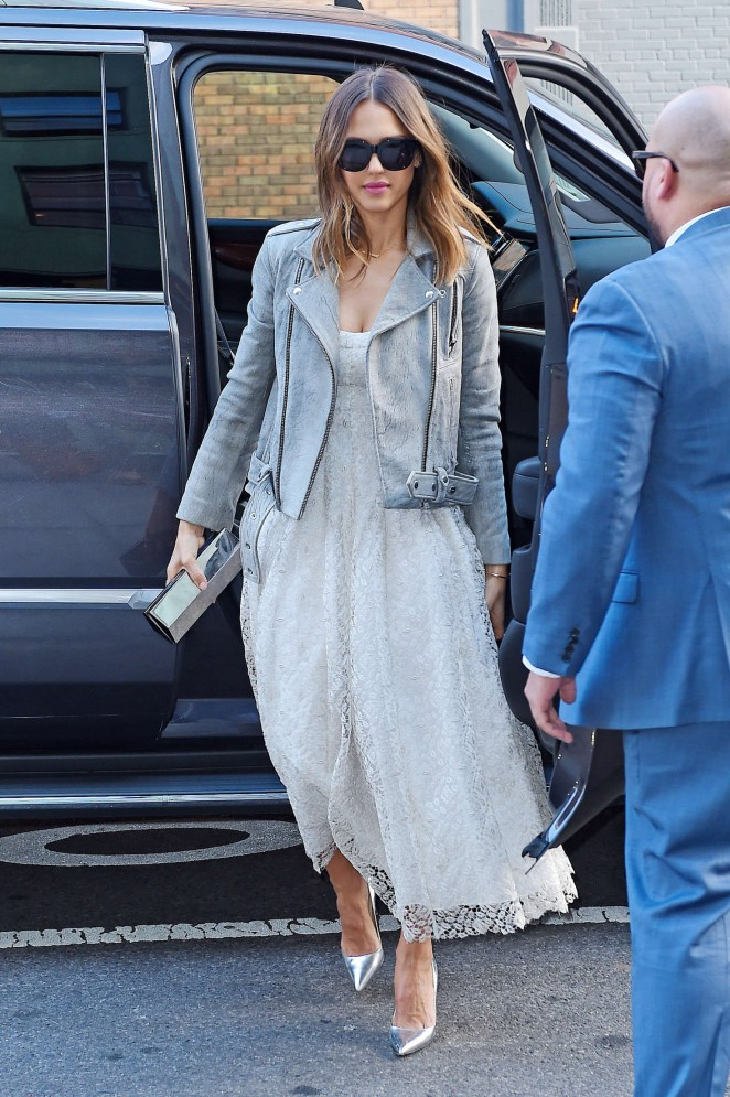 Jessica Alba out in New York -02