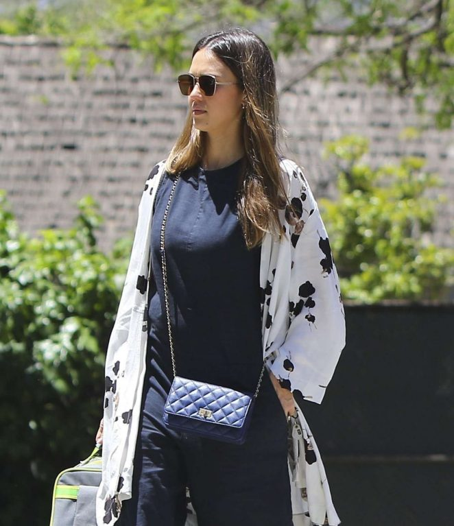 Jessica Alba - Out in Westwood