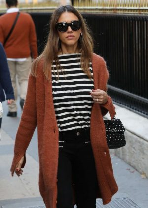 Jessica Alba out shopping in New York