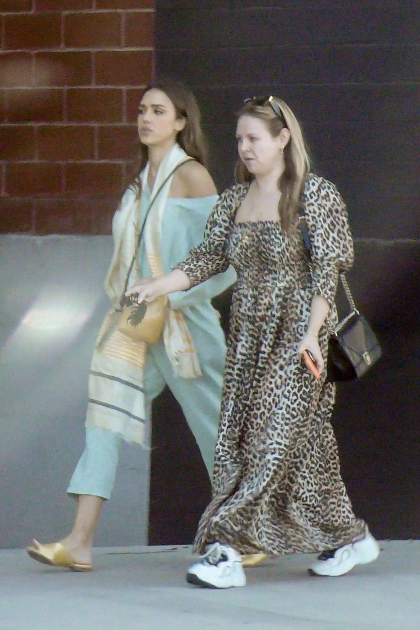 Jessica Alba 2019 : Jessica Alba – Out with a friend in Los Angeles-06