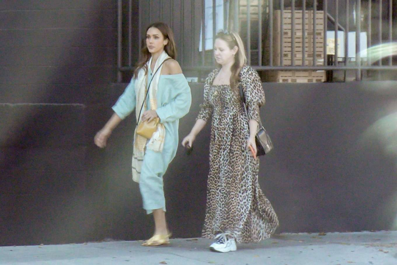 Jessica Alba 2019 : Jessica Alba – Out with a friend in Los Angeles-12