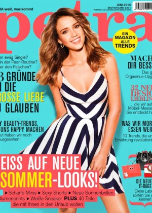 Jessica Alba - Petra Germany Magazine Cover (June 2015)