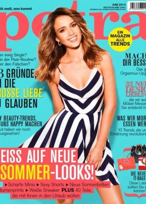 590b6644ad Jessica Alba - Petra Germany Magazine Cover (June 2015)