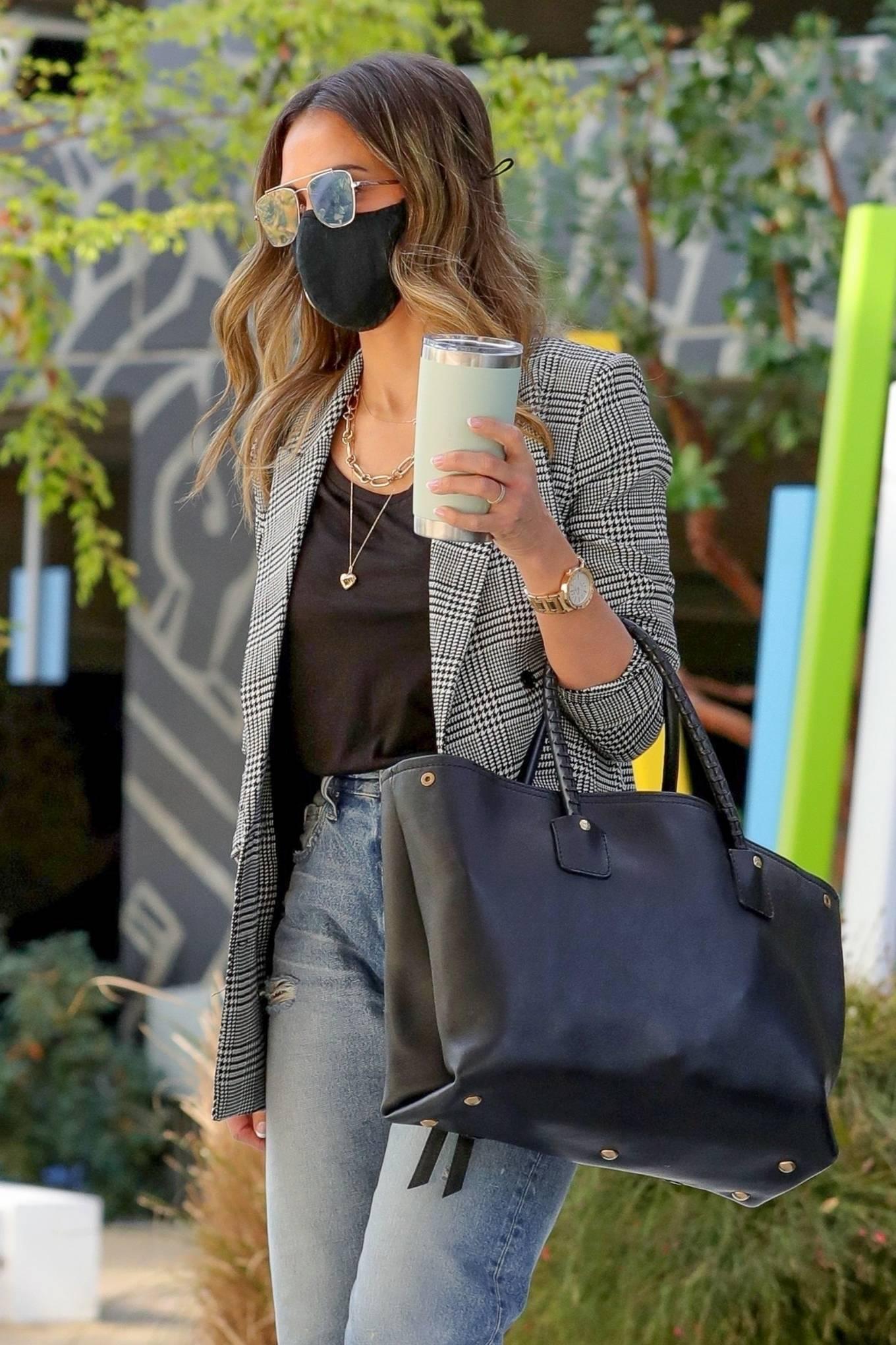 Jessica Alba - Pictured at the Honest Headquarters in Playa Vista