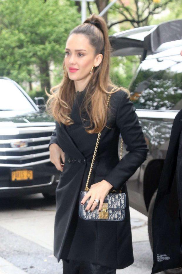 Jessica Alba - Promotes 'LA's Finest' in NY
