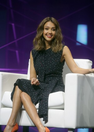 Jessica Alba - QuickBooks Connect Conference in San Jose