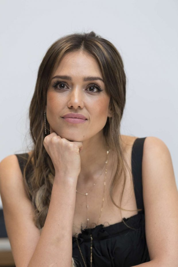 Jessica Alba: Seen at the LAs Finest Press Conference at the Four Seasons Hotel in Beverly Hills-06
