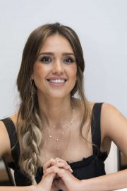 Jessica Alba - Seen at the LAs Finest Press Conference at the Four Seasons Hotel in Beverly Hills
