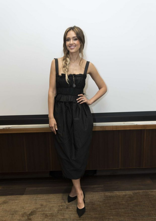 Jessica Alba: Seen at the LAs Finest Press Conference at the Four Seasons Hotel in Beverly Hills-08