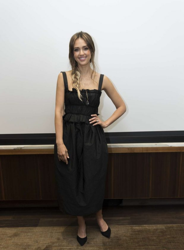 Jessica Alba: Seen at the LAs Finest Press Conference at the Four Seasons Hotel in Beverly Hills-10