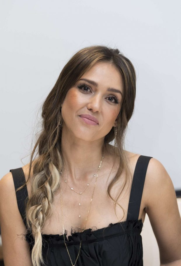 Jessica Alba: Seen at the LAs Finest Press Conference at the Four Seasons Hotel in Beverly Hills-16