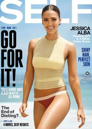 Jessica Alb - Self Magazine 2015 -04
