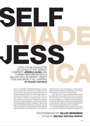 Jessica Alb - Self Magazine 2015 -09