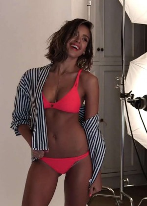 Jessica Alba - Shape 2015 (Behind the Scenes)