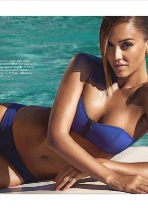 Jessica Alba in Bikini for Shape Magazine (June 2015)