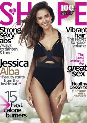 Jessica Alba - Shape Magazine (October 2016)