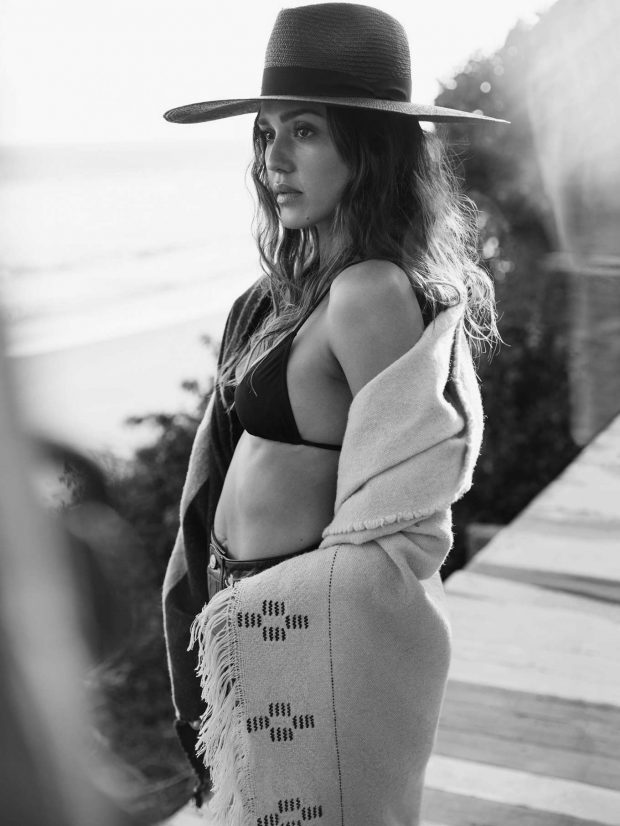 Jessica Alba - The Edit by Net-A-Porter (May 2019)
