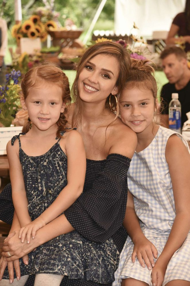 Jessica Alba - The Honest Company and The GREAT. celebrate The GREAT Adventure in NY