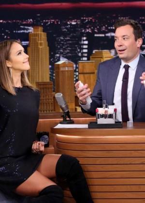 Jessica Alba: The Tonight Show Starring Jimmy Fallon -01
