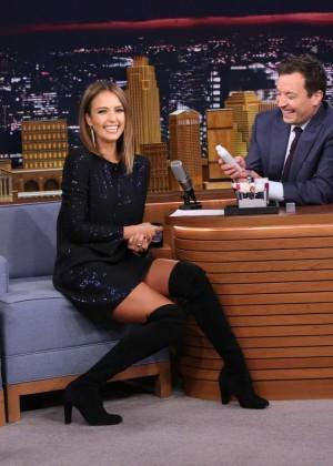 Jessica Alba: The Tonight Show Starring Jimmy Fallon -04