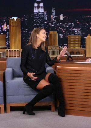 Jessica Alba: The Tonight Show Starring Jimmy Fallon -09