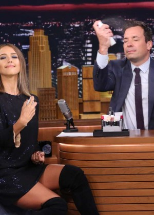 Jessica Alba - 'The Tonight Show Starring Jimmy Fallon' in NYC