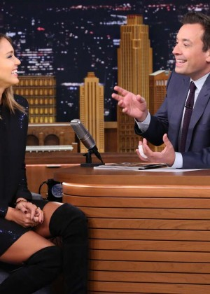 Jessica Alba: The Tonight Show Starring Jimmy Fallon -11