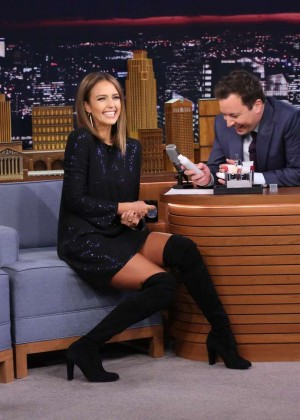 Jessica Alba: The Tonight Show Starring Jimmy Fallon -12