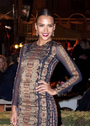 Jessica Alba - Tory Burch Paris Flagship Store Opening Party in Paris