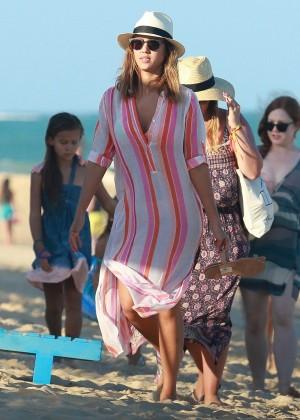 Jessica Alba in a Bikini in Brazil-07