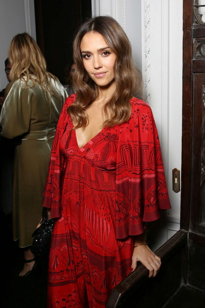 Jessica Alba - Valentino Show After Party in Paris