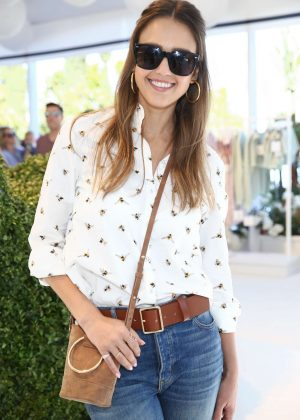 Jessica Alba - 'Victoria Beckham for Target' Garden Party in Los Angeles