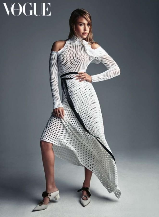 Jessica Alba - Vogue Australia (February 2016)